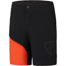 Ziener Natsu X-Function Shorts Youth, black/new red